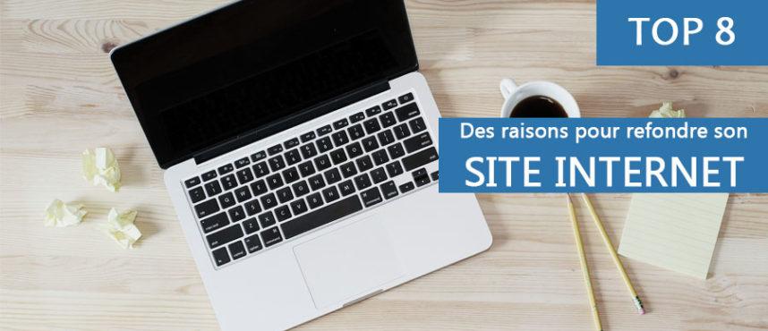 Pourquoi réaliser une refonte de votre site web ?