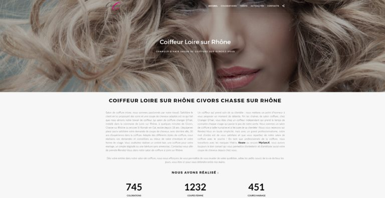 webmaster freelance lyon wordpress formation creer site internet coiffeur