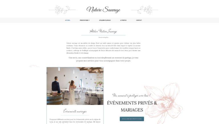 webmaster freelance lyon wordpress formation creer site internet fleuriste mariage lyon