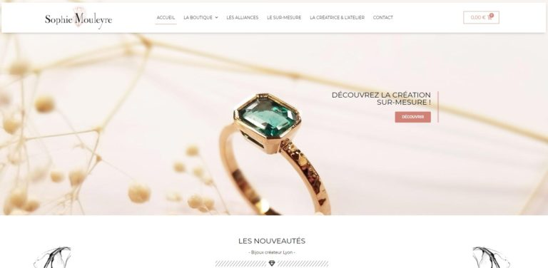 sophie mouleyre creation et refonte graphique ecommerce wordpress